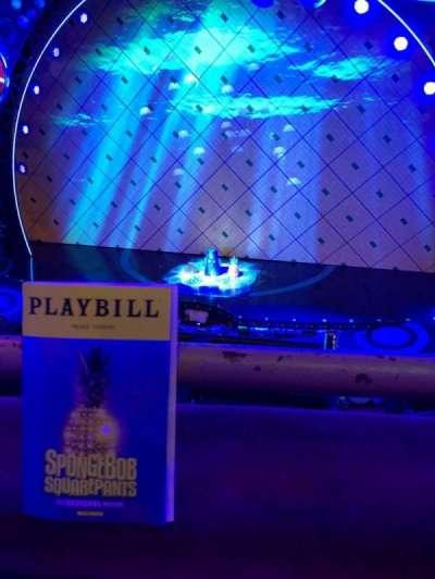 Palace Theatre (Broadway), Abschnitt: Mezz, Reihe: AA, Platz: 113