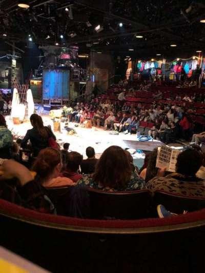 Circle in the Square Theatre, Abschnitt: Orch, Reihe: G, Platz: 131