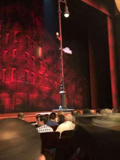 Longacre Theatre, Abschnitt: Orch, Reihe: G, Platz: 4