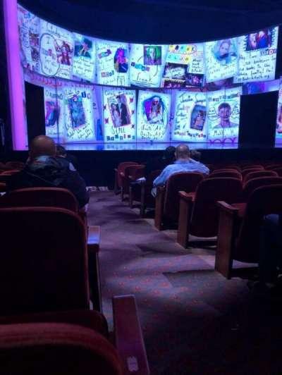 August Wilson Theatre, Abschnitt: Orch, Reihe: K, Platz: 1