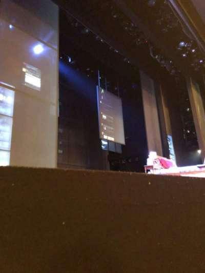 Music Box Theatre, Abschnitt: Orch, Reihe: A, Platz: 5