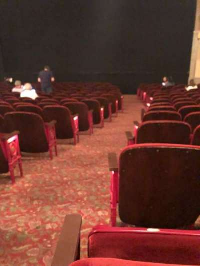 Neil Simon Theatre, Abschnitt: Orch, Reihe: O, Platz: 2