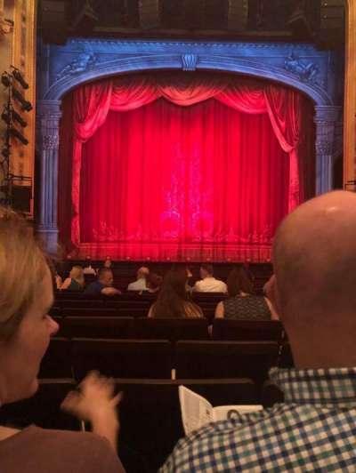 Hudson Theatre, Abschnitt: Orch, Reihe: O, Platz: 108