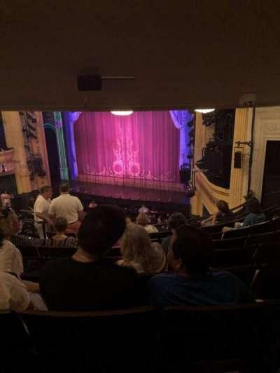 Hudson Theatre, Abschnitt: Dress Circle, Reihe: J, Platz: 10