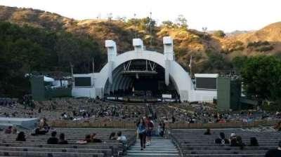 Hollywood Bowl, Abschnitt: F1, Reihe: 22, Platz: 43