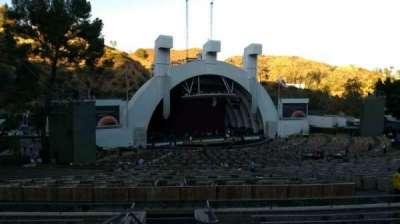 Hollywood Bowl, Abschnitt: K1, Reihe: 10, Platz: 2