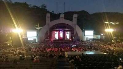 Hollywood Bowl, Abschnitt: J1, Reihe: 22, Platz: 1