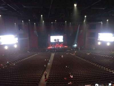 Microsoft Theater, Abschnitt: Lower Mezz center left, Reihe: B, Platz: 406