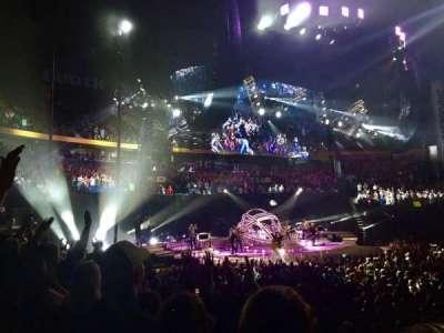 Bridgestone Arena, Abschnitt: 115, Reihe: JJ, Platz: 12