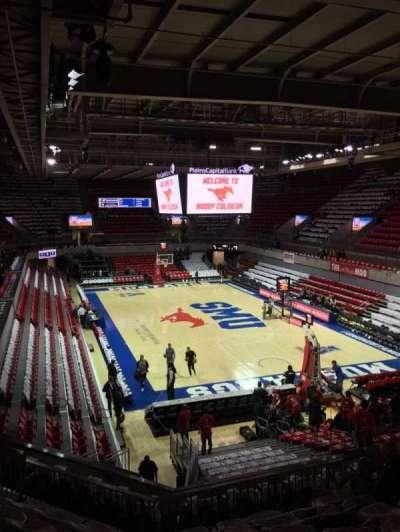Moody Coliseum, Abschnitt: 201, Reihe: 8, Platz: 11