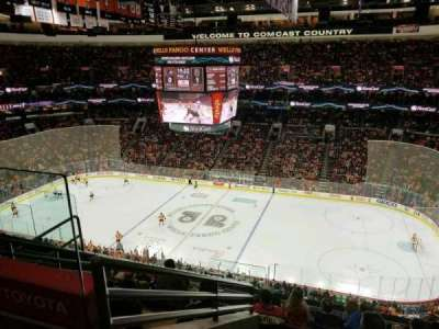 Wells Fargo Center Abschnitt 203