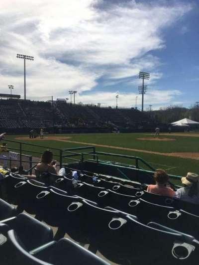 New Britain Stadium, Abschnitt: 103, Reihe: E, Platz: 13