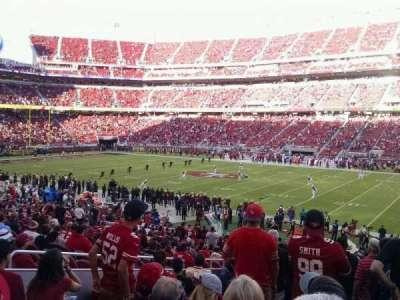 Levi's Stadium, Abschnitt: 134, Reihe: 29, Platz: 12