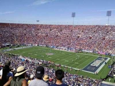 Los Angeles Memorial Coliseum, Abschnitt: 3L, Reihe: 80, Platz: 13