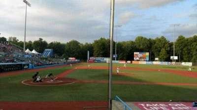 Dutchess Stadium, Abschnitt: 104, Reihe: H, Platz: 14