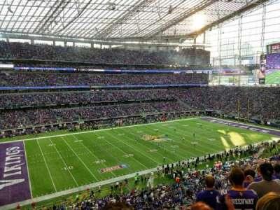 U.S. Bank Stadium, Abschnitt: 215, Reihe: 6, Platz: 13
