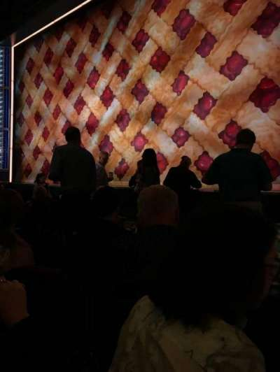 Brooks Atkinson Theatre, Abschnitt: ORCH, Reihe: E, Platz: 12