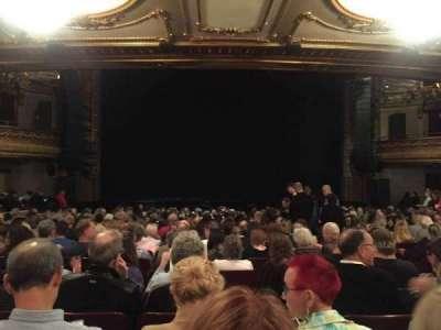 Palace Theatre (Broadway), Abschnitt: ORCH, Reihe: U, Platz: 109