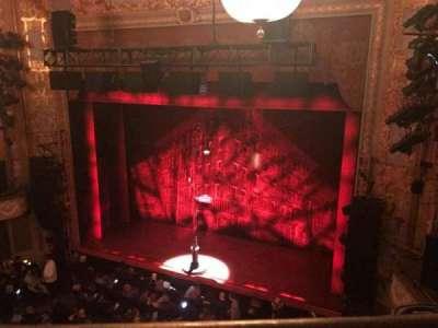 Longacre Theatre, Abschnitt: Right Balcony, Reihe: A, Platz: 5