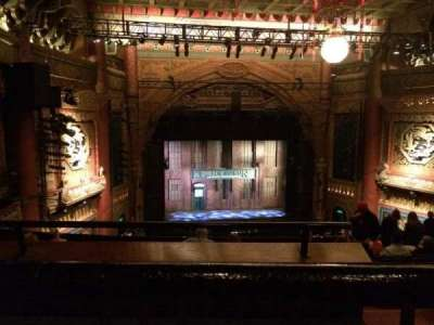 5th Avenue Theatre, Abschnitt: Upper Left, Reihe: K, Platz: 9