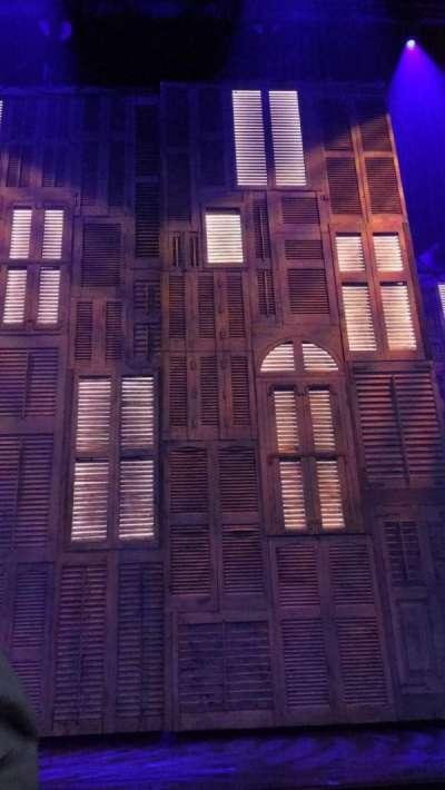 Marquis Theatre Abschnitt Orch