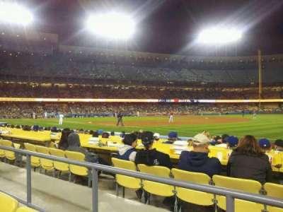 Dodger Stadium, Abschnitt: 36FD, Reihe: B, Platz: 5