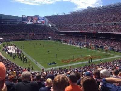 Soldier Field, Abschnitt: 255, Reihe: 24, Platz: 7