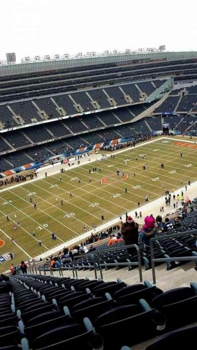 Soldier Field, Abschnitt: 443, Reihe: 37