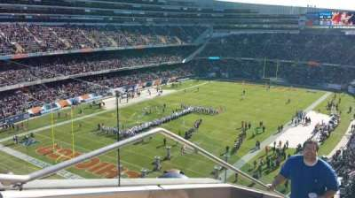 Soldier Field, Abschnitt: 446, Reihe: 1