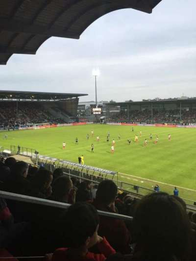 Stade Jean Bouin, Abschnitt: Jean Bouin Laterale, Reihe: S, Platz: 1