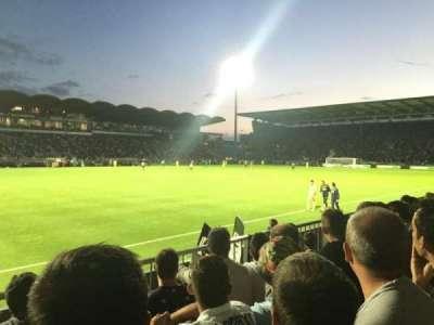 Stade Jean Bouin, Abschnitt: St Leonard Laterale, Reihe: D, Platz: 188