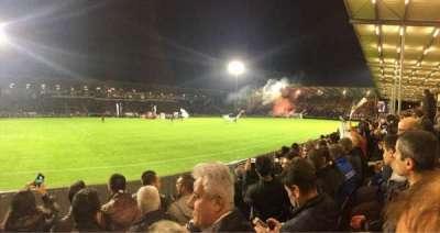 Stade Jean Bouin, Abschnitt: St Leonard Laterale, Reihe: D, Platz: 191