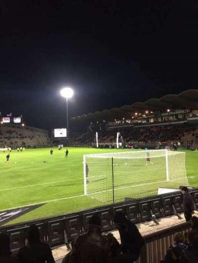 Stade Jean Bouin, Abschnitt: Coubertin, Reihe: F, Platz: 125