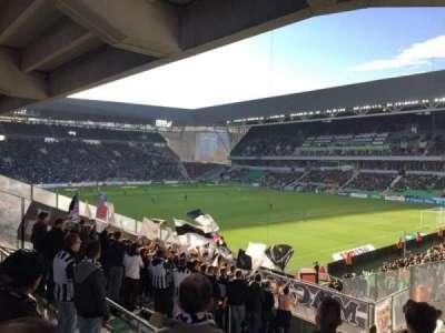 Stade Geoffroy-Guichard, Abschnitt: Tribune H.Point, Reihe: V30