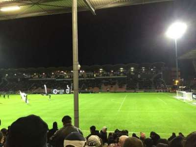 Stade Jean Bouin, Abschnitt: St Leonard Laterale, Reihe: Q, Platz: 25