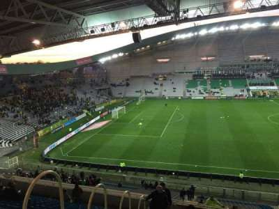 Stade de la Beaujoire, Abschnitt: Oceane Haut, Reihe: Q, Platz: 168