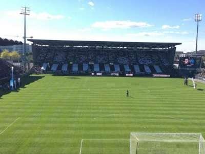Stade Jean Bouin, Abschnitt: Colombier, Reihe: Haute