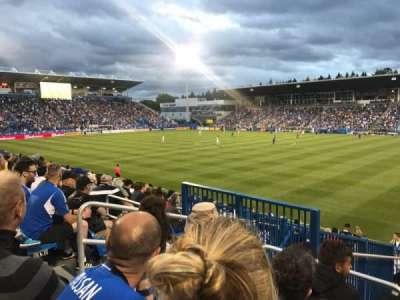 Stade Saputo, Abschnitt: Sud, Reihe: 120, Platz: N28