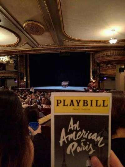 Palace Theatre (Broadway), Abschnitt: Orchestra Right, Reihe: S, Platz: 6