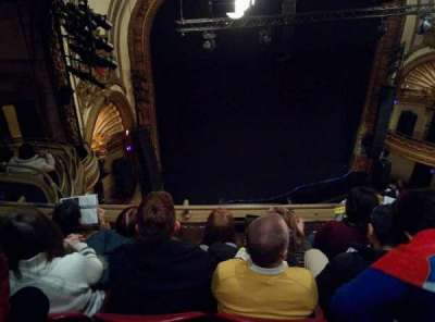 Palace Theatre (Broadway), Abschnitt: Balcony Left, Reihe: D, Platz: 19