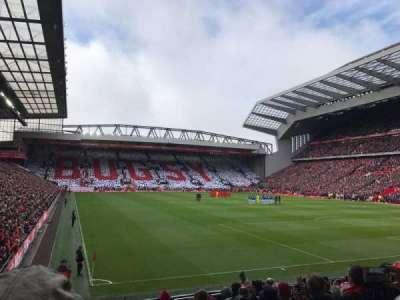 Anfield, Abschnitt: 127, Reihe: 16, Platz: 182