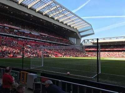 Anfield, Abschnitt: 105, Reihe: 4, Platz: 95