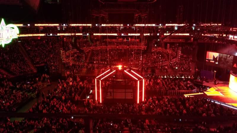 T-Mobile Arena, Abschnitt: 223, Reihe: A, Platz: 12
