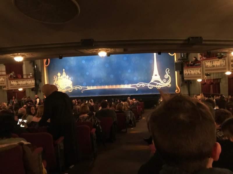 Broadhurst Theatre, Abschnitt: ORCHO, Reihe: T, Platz: 2
