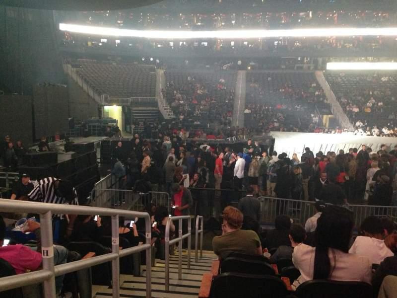 Philips Arena, Abschnitt: 116, Reihe: K, Platz: 18