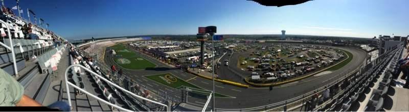 Charlotte Motor Speedway, Abschnitt: UpperFord B, Reihe: 51, Platz: 36