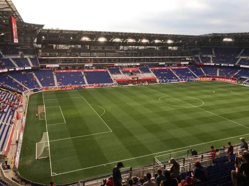 Sitzplatz-Aussicht für Red Bull Arena (New Jersey) Abschnitt 229 Reihe 20 Platz 21