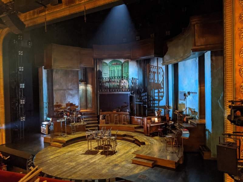 Sitzplatz-Aussicht für Walter Kerr Theatre Abschnitt Mezzanine R Reihe A Platz 10