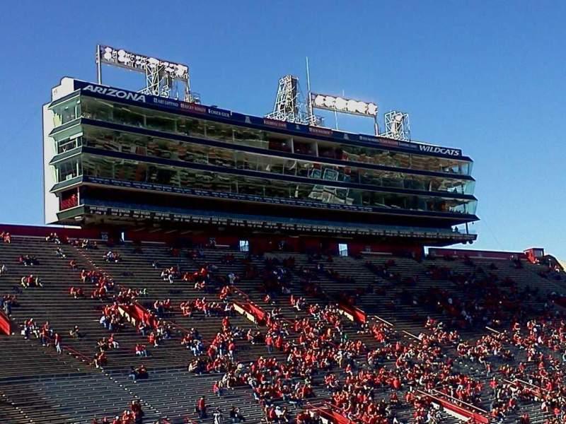 Sitzplatz-Aussicht für Arizona Stadium Abschnitt 12 Reihe 30 Platz 16
