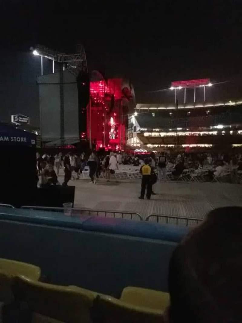 Dodger Stadium, Abschnitt: 51fd, Reihe: B, Platz: 5